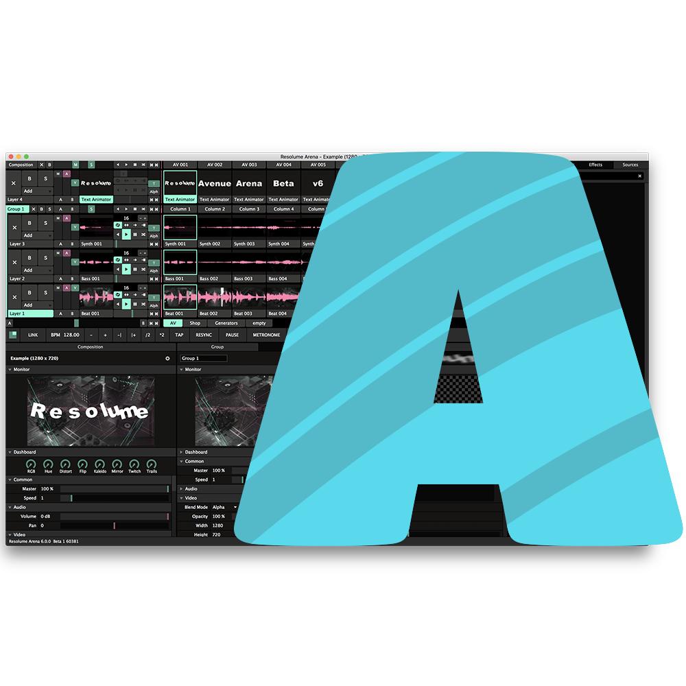 Resolume Avenue 7 Software