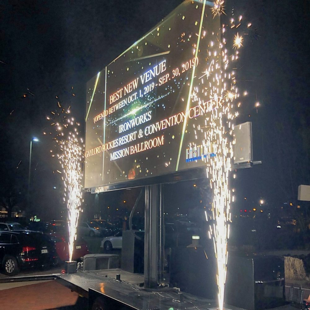 Mobile Outdoor LED Display