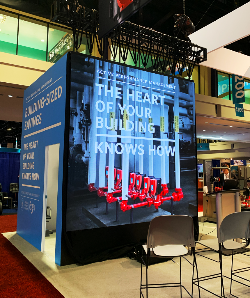 2.9mm Trade Show LED Video Wall